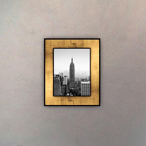 Placa Empire Gold