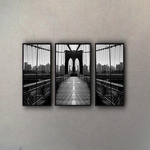 Set Puente Brooklyn (3 Cuadros)