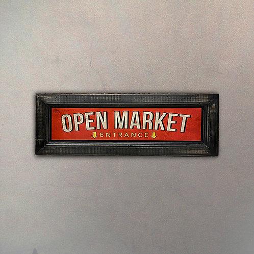 "Cartel ""Open Market"""