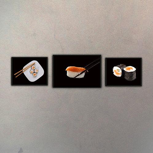 Combo Sushi (3 Cuadros)