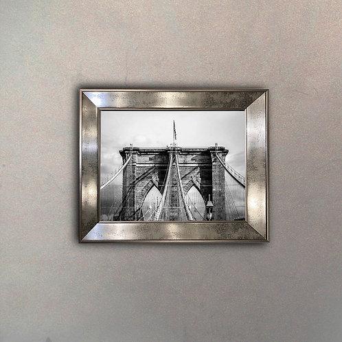 Puente Brooklyn Espejo Antique