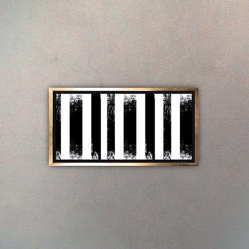 Arte Moderno Gold V (Canvas)