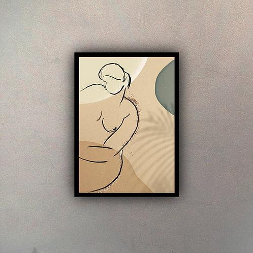 Desnudo Geométrico I
