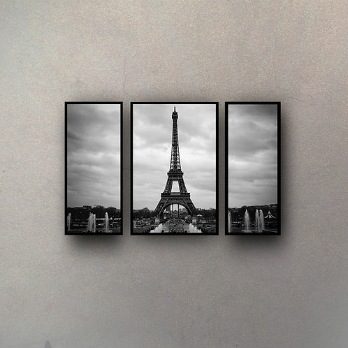 Set Torre Eiffel I (3 Cuadros)