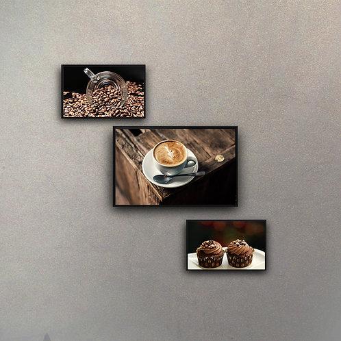 Combo Café (3 Cuadros)