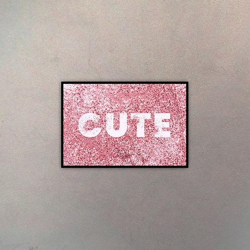 """Tipografía """"Cute"""""""