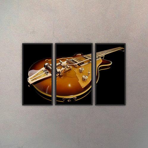 Tríptico Guitarra Eléctrica (3 Cuadros)