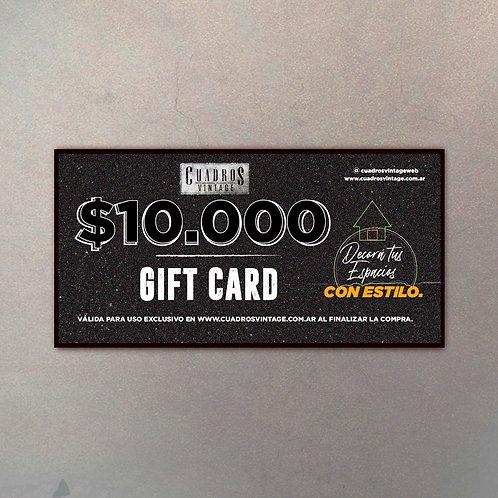 $10.000 Gift Card