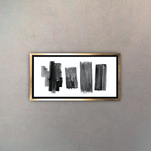 Arte Moderno Gold III (Canvas)