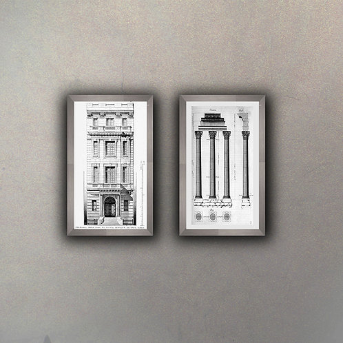 Set Arquitectura (2 cuadros)