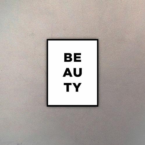 """Tipografía """"Beauty"""""""