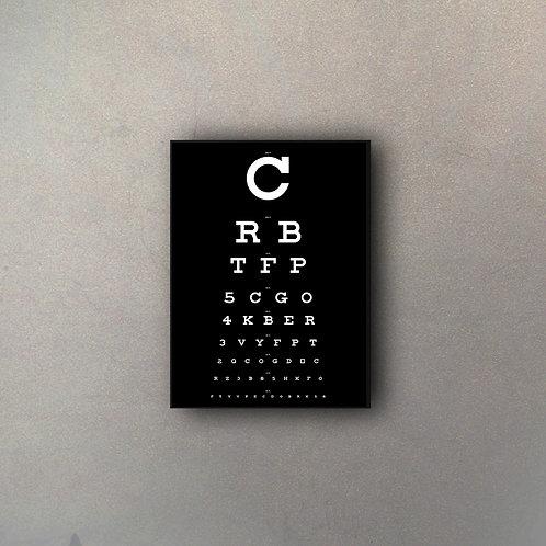 Tabla Visual Oculista II