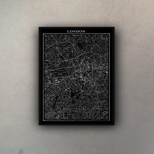 Mapa Londres II