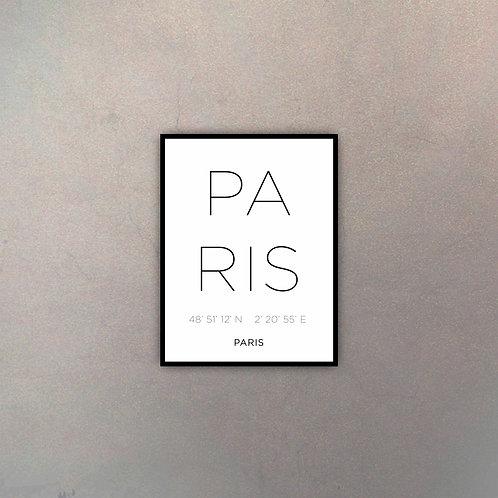 Tipografía Paris