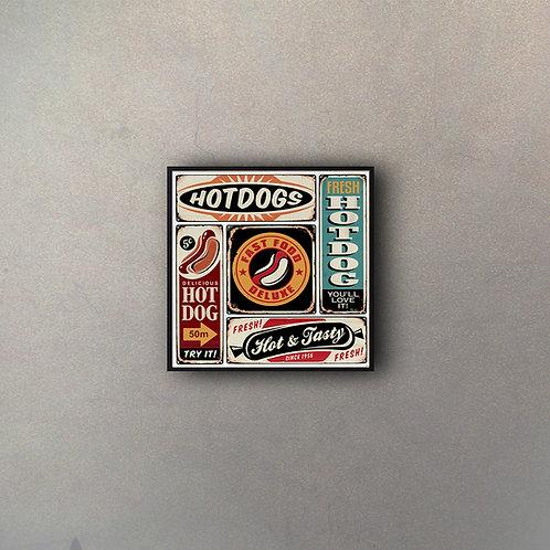 Hot Dogs Vintage