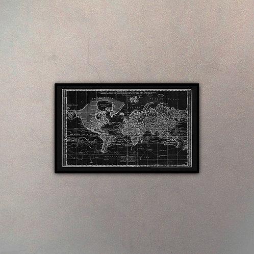 Mapa Del Mundo II