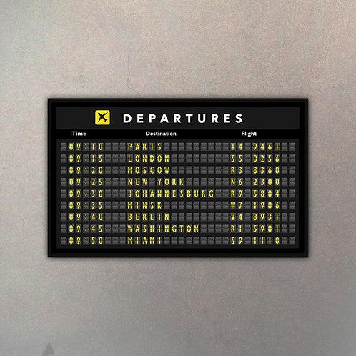 Cartel Aeropuerto Mega II