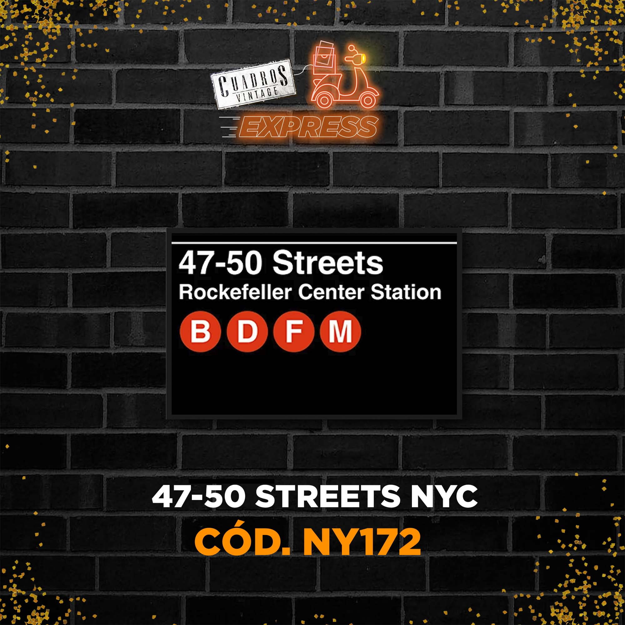 Medidas: 47-50 Streets NYC