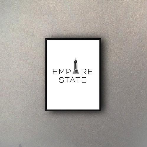 Tipografía Empire State