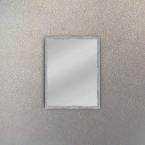 Espejo II Marco Acero