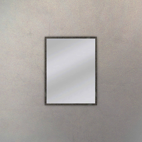 Espejo III Marco Negro Añejo