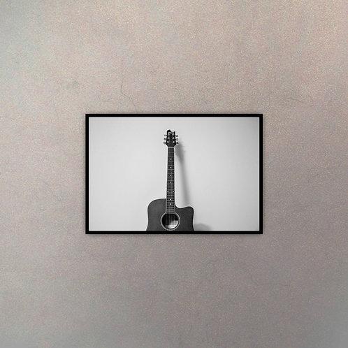 Guitarra Blanco & Negro