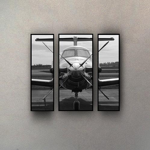 Set Avión (3 Cuadros)