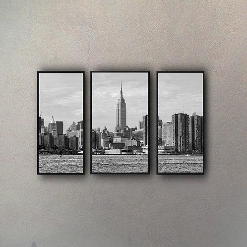 Set Vista NY (3 Cuadros)
