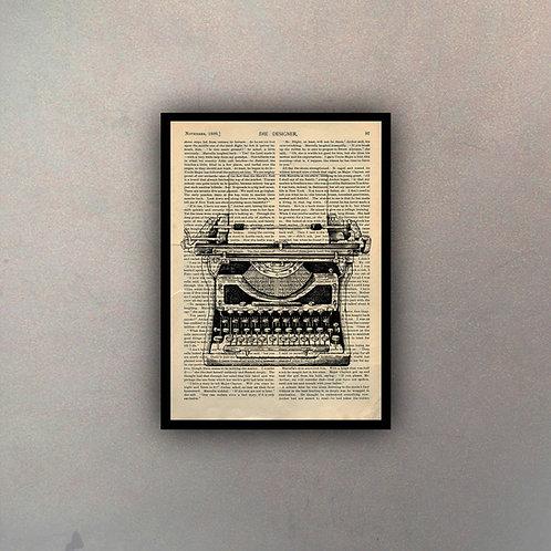 Máquina de Escribir Fondo Vintage