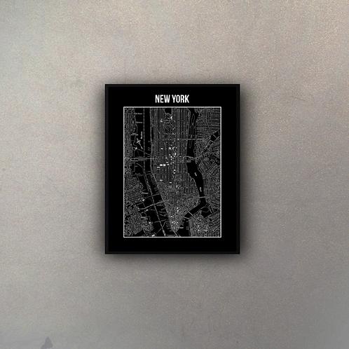 Mapa New York II