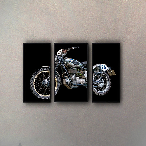 Set Moto (3 Cuadros)