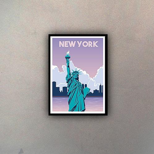 Afiche Vintage New York II