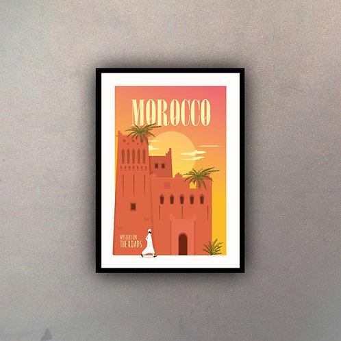 Afiche Vintage Morocco