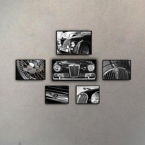 Combo Auto (6 Cuadros)