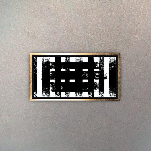 Arte Moderno Gold VII (Canvas)