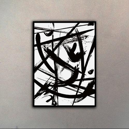 Abstracto de Autor III (Canvas)