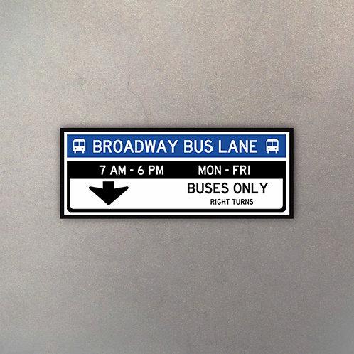 Broadway Bus Lane