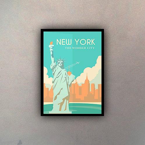 Afiche Vintage New York