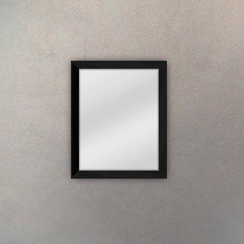Espejo Marco Espejado Negro