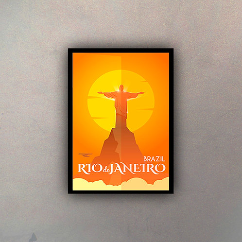 Afiche Vintage Río de Janeiro