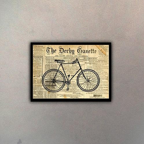 Bicicleta Fondo Vintage