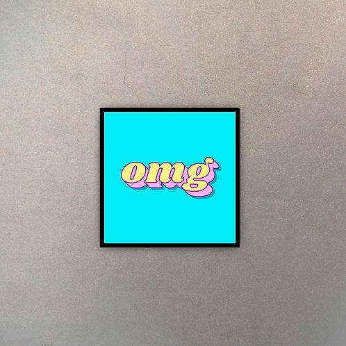 """Tipografía """"OMG"""" I"""