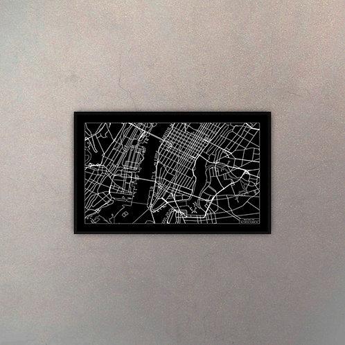 Mapa New York I