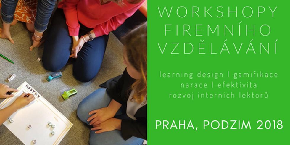Workshopy Firemního vzdělávání 2018