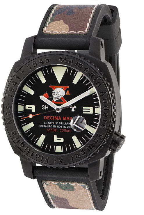 Scafomaster 500 mt Decima Flottiglia MAS (Black)