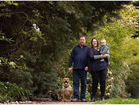 Conna, Regan & Cooper ~ Family Portraits