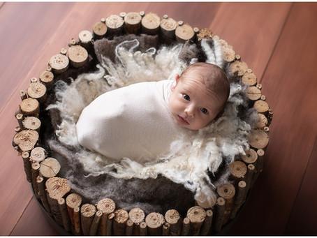 Max's Newborn Photo Shoot