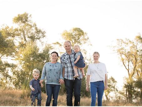 Short Family Portraits