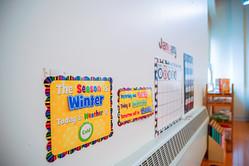 Little Valley Montessori Class Wall