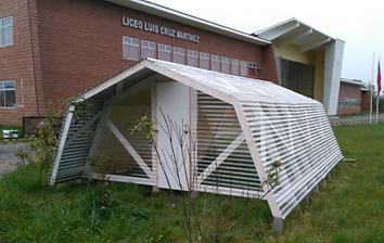 Invernaderos modulares policarbonato Villarrica Conquil